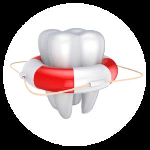 Kanałowe zębów.